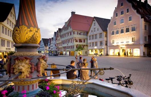 Foto: Biberach Marktplatz
