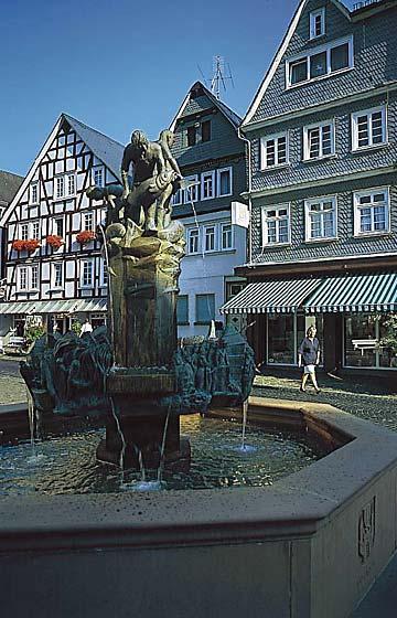 Foto: Brunnen Bad Laasphe