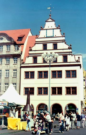 Foto: Leipzig Alte Waage