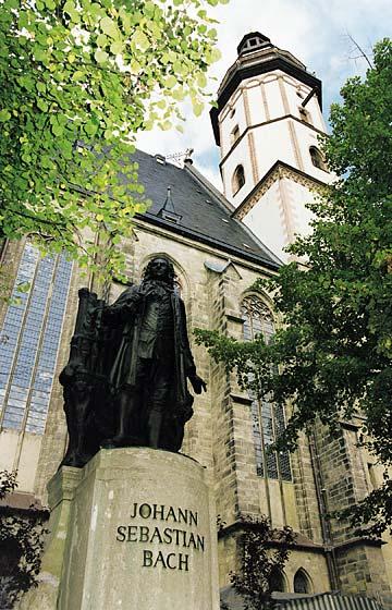 Foto: Leipzig Thomaskirche