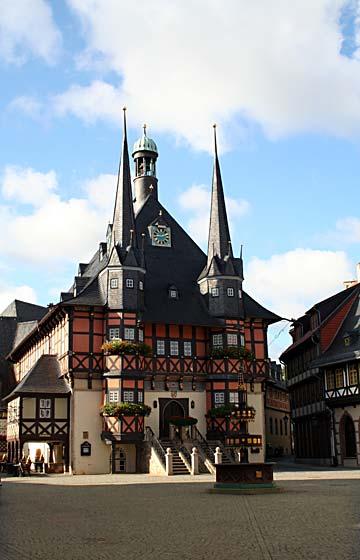 Foto: Wernigerode Rathaus