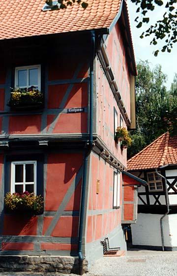 Foto: Wernigerode schiefes Haus