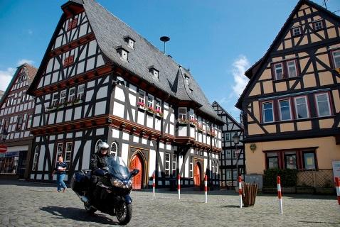 Foto: Die Altstadt von Schotten